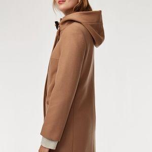 Aritzia Babaton cashmere wool coat